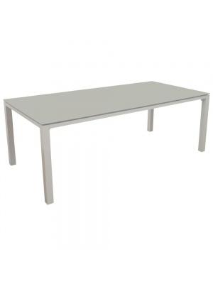 Table Stoneo 180 plateau TRESPA® Blanc/Basalt