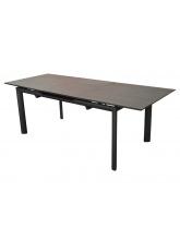 Table Miami HPL 220 Gris / Brun