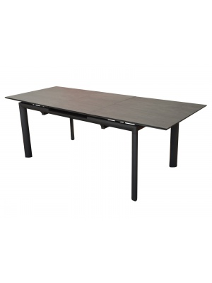 Table Miami HPL 220 Gris / Brun