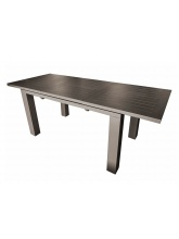 Table Elisa 240 Café avec allonge