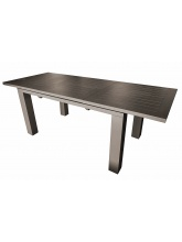 Table Elisa 200 Café avec allonge