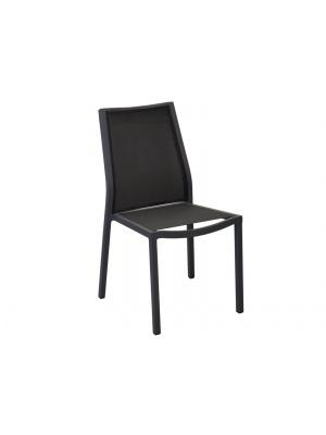 Chaise Ida Grise / Noire empilable