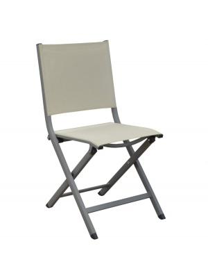 Chaise pliante Thema Taupe / Beige