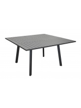 Table Barcelona 145 Grise avec allonge