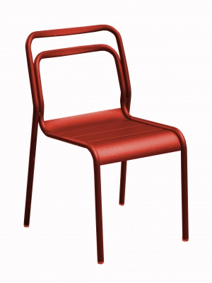 Chaise EOS Rouge