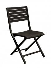 Chaise pliante Lucca Graphite