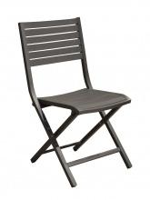 Chaise pliante Lucca Grise