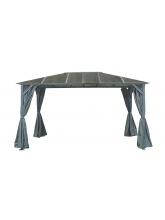 Tonnelle Galicia 3x4 toit polycarbonate