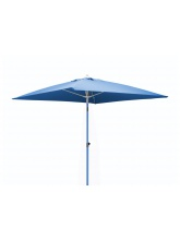 Parasol carré fibre de verre 2x2 Azur