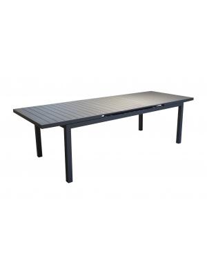 Table Lift Valencia 206 grise avec allonge
