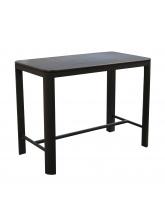 Table haute Eos 140 Graphite