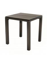 Table Stoneo 90 plateau TRESPA® Café Cedar