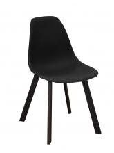 Chaise coque Jato noire