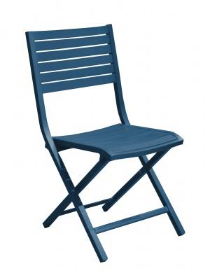 Chaise pliante Lucca Bleu Nuit