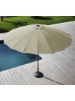Parasol fibre Pagode 300 Ecru