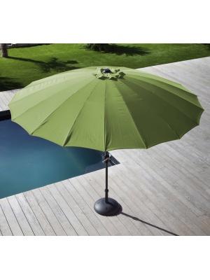 Parasol fibre Pagode 300 Olive