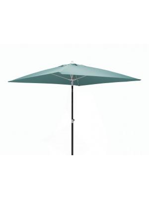 Parasol carré fibre de verre 2x2 Eau