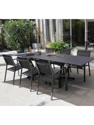 Table Vita 150/250 Grise