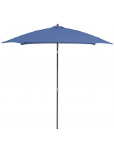 Parasol carré fibre de verre 2x2 Bleu