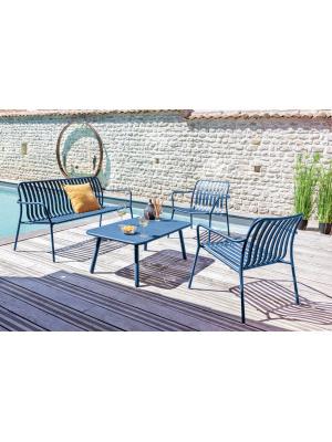 Set Lounge BITTI bleu