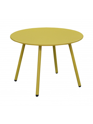 Table basse Rio moutarde