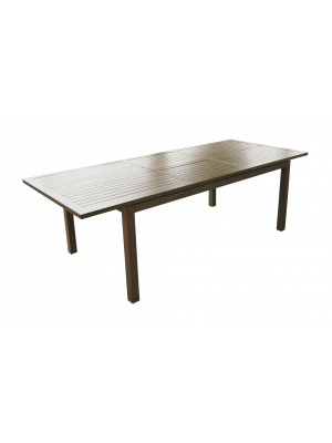 Table Milano 180/240 Brun avec allonge