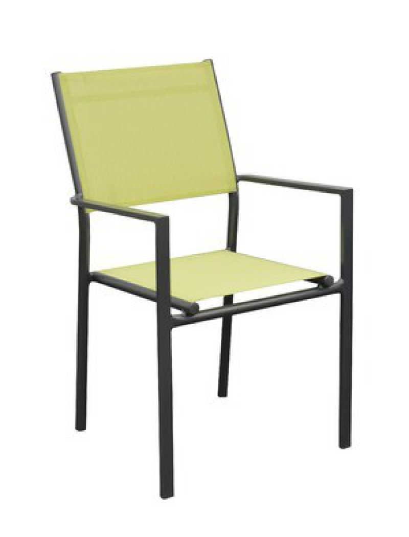 Vert empilable royal Gris citron Fauteuil Thema H2IeEWY9D