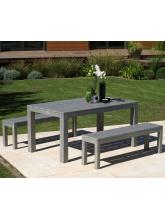 Table Campagne en eucalyptus FSC