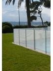 Clôture piscine souple Beethoven filet blanc