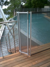 Clôture de piscine rigide Beethoven blanche