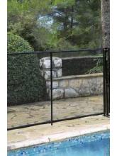 Clôture de piscine rigide Beethoven noire
