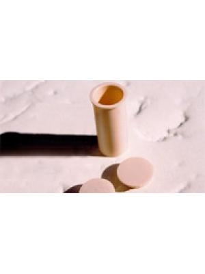 Manchon terre PVC pour clôture souple démontable