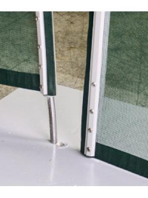 Pack complet de pose pour clôture souple démontable