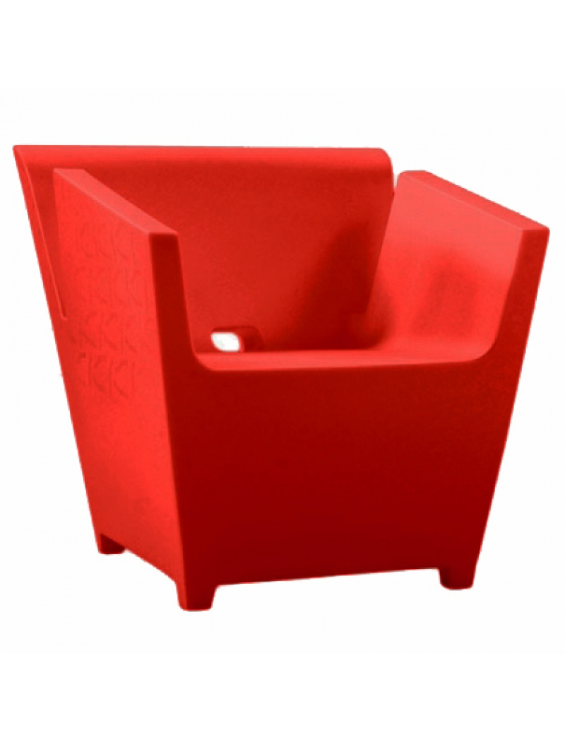Fauteuil Raffy - Rouge