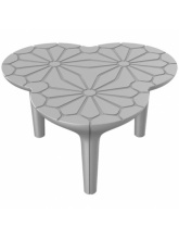 Table basse Altesse - Gris