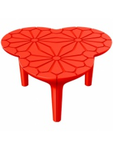 Table basse Altesse - Rouge