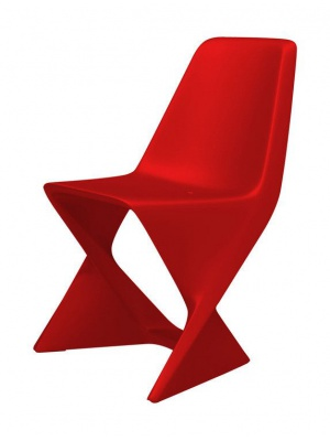Chaise Iso - Rouge