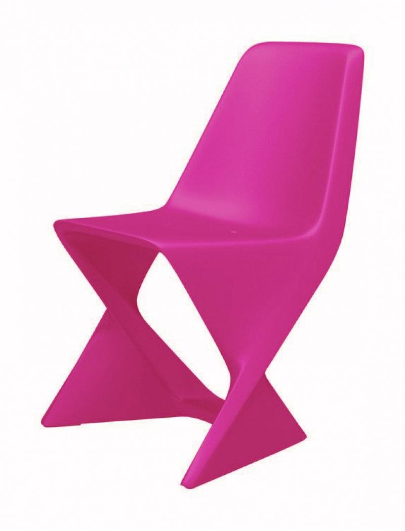 Chaise iso fuchsia qui est paul chaises fauteuils - Chaise jardin pvc ...