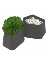 Pot Rock Garden small - Gris