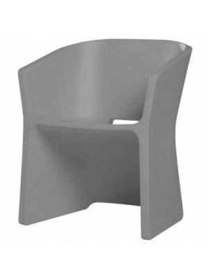 Chaise Sliced Gris béton