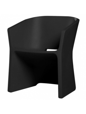 Chaise Sliced Noir