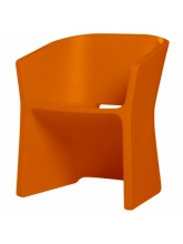 Chaise Sliced Orange