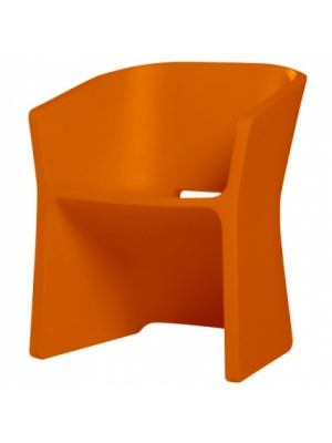 Chaise Sliced - Orange