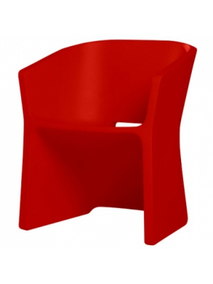 Chaise Sliced Rouge