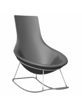 Rocking chair Tom Yam - Anthracite