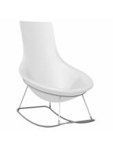 Rocking chair Tom Yam - Blanc