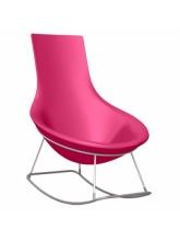 Rocking chair Tom Yam - Fuchsia