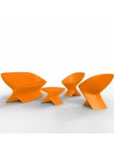 Salon de jardin Ublo - Orange