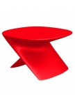 Table basse Ublo - Rouge