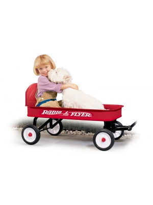 Radio Flyer - charriot rouge
